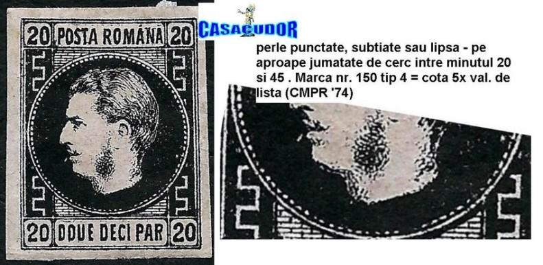 1867 TIP 4 MLH PERLE PUNCTATE