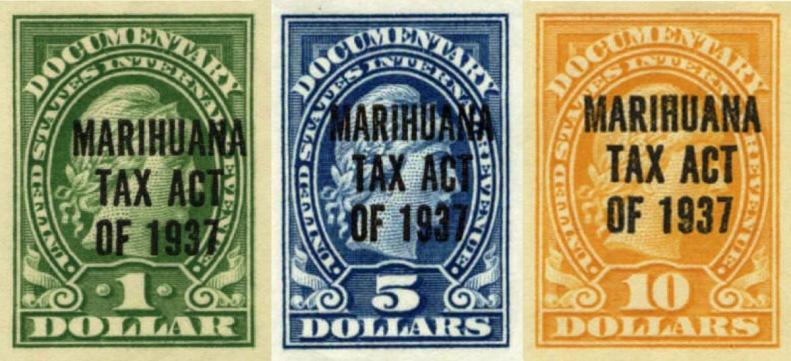timbre taxa marihuana marihuana tax stamps