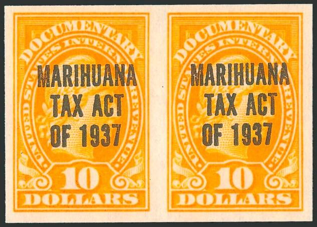 marihuana tax stamps