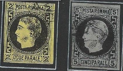 1866 CAROL I 2 par si 5 par