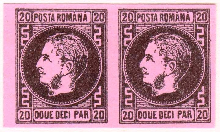 1866 CAROL I 20 par PERECHE FALS