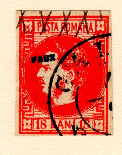 1868 18 BANI CAROL I FALS SPERATI