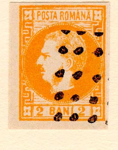 1868 2 BANI CAROL I FALS Fournier angry