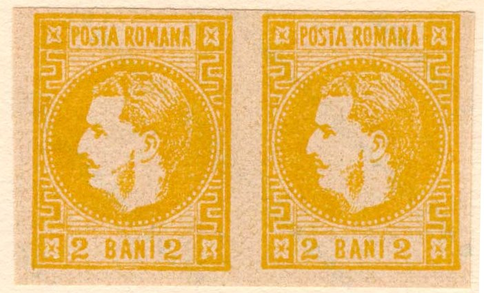 1868 2 BANI CAROL I FALS SPERATI