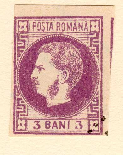 1868 3 BANI CAROL I FALS Fournier