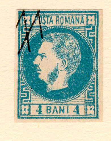 1868 4 bani fals forunier