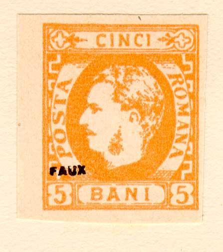1869 CAROL I 5 bani FALS